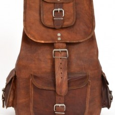 """85aef713028 Gusti Cuir nature """"Parker"""" sac à dos sac à bretelles besace cabas en cuir"""
