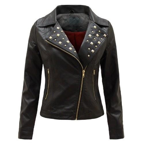 envy boutique veste aviateur motard blazer femme simili cuir pu pvc rembourr fermeture eclair. Black Bedroom Furniture Sets. Home Design Ideas